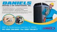 Daniel's Heating & Air Conditioning, Inc.