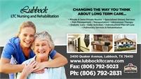 Lubbock LTC Nursing & Rehabilitation