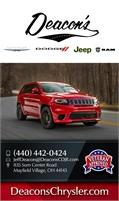 Deacon's Chrysler-Jeep