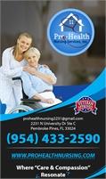 Pro Health Nursing Service