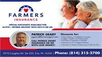 Patrick Geary Farmers Insurance
