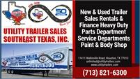 Utility Trailer Sales SE Texas
