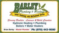 Barley Plumbing & Heating