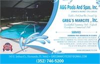 A&G Pools & Spas, Inc. DBA Greg's Marcite