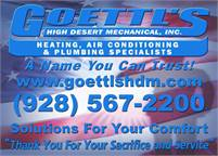 Goettl's High Desert Mechanical, Inc.