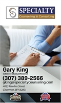 Gary King and Specialty Counseling