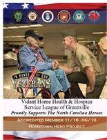 Vidant Home Health & Hospice - Service League Of Greenville
