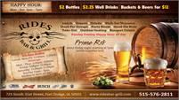 Rides Bar & Grill