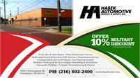 Hasek Automotive Service & Supply, Inc.