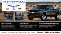 Sheboygan Chevrolet   Buick   GMC