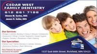 Cedar West Family Dentistry
