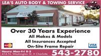 Lea's Auto Body & Towing Service