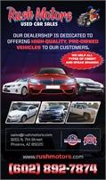 Rush Motors Used Car Sales