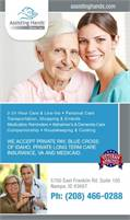 Assisting Hands Home Care Boise, LLC