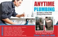 Anytime Plumbing - Ballinger
