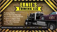 Ernie's Towing, LLC