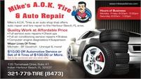 Mike's A.O.K. Tires & Auto Repair