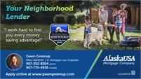 Alaska USA Mortgage Company - Gwen Greenup