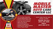 Mobile Master Auto Care Center, LLC