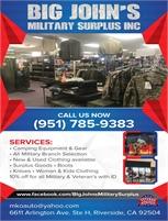 Big John's Military Surplus, Inc.
