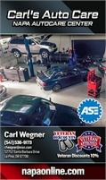Carl's Auto Care - NAPA AUTOCARE CENTER