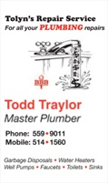 Tolyns Plumbing Repair, LLC